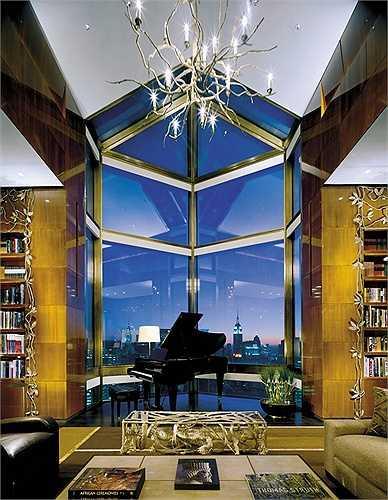 Giá thuê phòng lên đến 50.000 USD/đêm (khoảng hơn 1,1 tỷ đồng). Đây là phòng có lối thang máy riêng