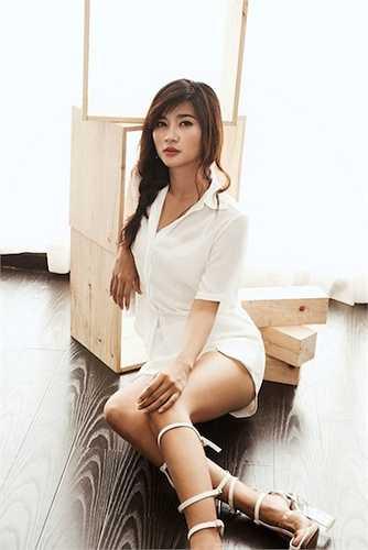 Tuổi thanh xuân hợp tác với Hàn Quốc giúp cô nhận được nhiều lời khen và nhiều khán giả biết đến hơn.