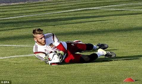 De Gea sẽ có cơ hội chứng tỏ tại Champions League