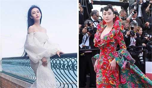 Hồi tháng 5, Hinh Dư dấy lên làn sóng bàn tán, chế ảnh vì diện váy họa tiết chăn con công lên thảm đỏ Cannes. Người đẹp từng hứa hẹn tiếp tục diện váy áo cảm hứng truyền thống lên thảm đỏ quốc tế nếu có cơ hội.