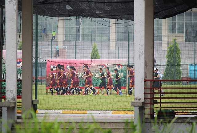 HLV trưởng Toshiya Miura tiếp tục muốn giữ kín hình ảnh và hoạt động của các cầu thủ vừa được gọi lên tuyển.
