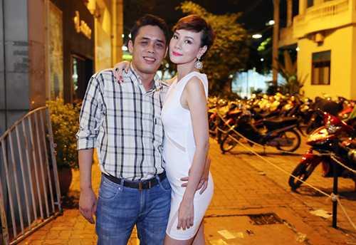 Á hậu Dương Yến Ngọc và doanh nhân Trần Thông thuở còn mặn nồng