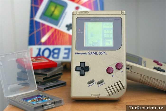 Nintendo Game Boy. Cách mọi người chơi xếp hình đã khác rất nhiều trong thời nay. Những chiếc GameBoy ngày xưa là mơ ước của các cậu chàng tuổi teen nhưng ngày nay, máy tính và smartphone đã thay thế toàn bộ