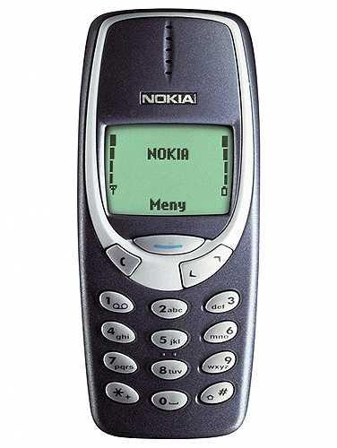 Điện thoại 'cục gạch'. Những chiếc Nokia 'cục gạch' vẫn tồn tại đến tận ngày nay nhưng không được nhiều người để ý vì sự phổ biến của smartphone. Tuy nhiên, so sánh về độ bền thì iPhone còn phải chạy dài so với Nokia 3310