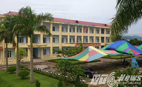 Ngôi trường nữ sinh Nguyễn Thị  Thu Loan học tập bỗng dưng mất tích trước thềm năm học mới 2015 - 2016 - Ảnh MK