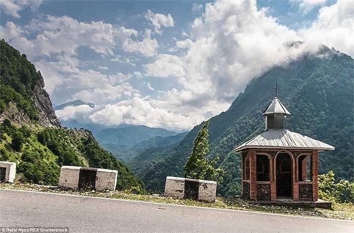 Hình ảnh được chụp tại vùng Svaneti của Georgia