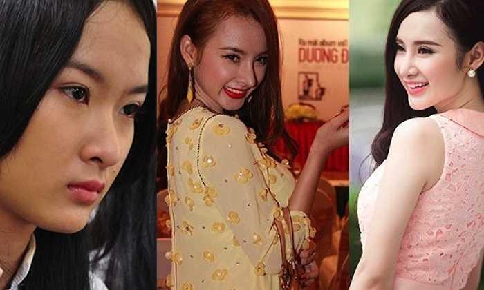 Nữ diễn viên 'Mùi ngò gai' cũng có gương mặt thay đổi chóng mặt theo thời gian. Không ít lần cô gây 'sốc' với gương mặt thiếu cân đối.