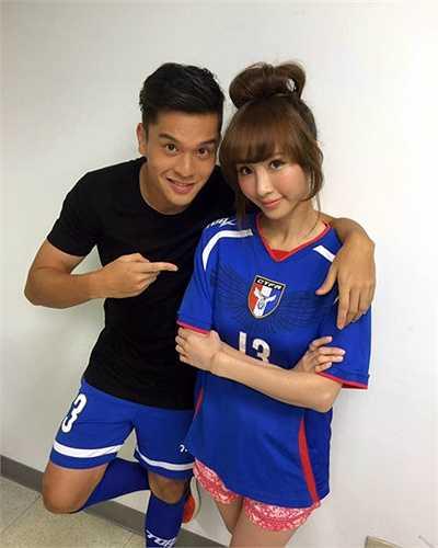 Victor Chou được nhiều người Đài Loan hâm mộ dù anh không phải là một cầu thủ quá nổi bật.