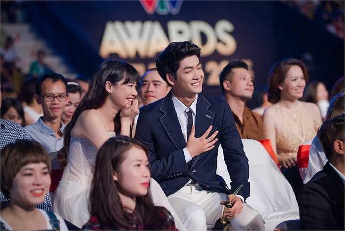 Trong đó nam/nữ diễn viên ấn tượng dành cho Kang Tae Oh và Nhã Phương.