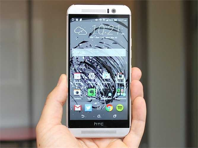 HTC One M9 - 630 USD - HTC One M9 chỉ khác biệt với One M8 một chút. Và tất cả đều tốt hơn một chút từ camera, thiết kế và cả bộ xử lý mạnh mẽ hơn đến mức giá niêm yết