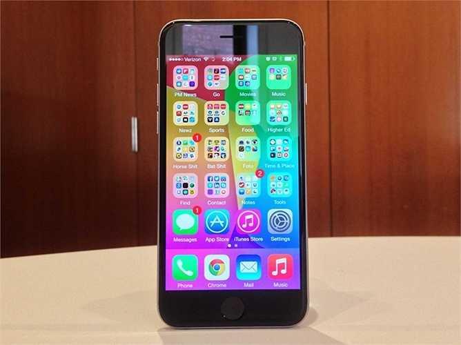 iPhone 6 - 649 USD - Apple vẫn thể hiện sự thống trị của mình trong thế giới smartphone. Ngoại trừ điểm yếu về pin thì khó có thể chê trách điều gì khác của iPhone 6