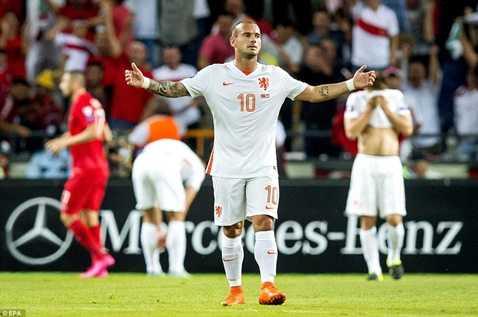 ĐT Hà Lan có thể không vượt qua được vòng loại Euro 2016