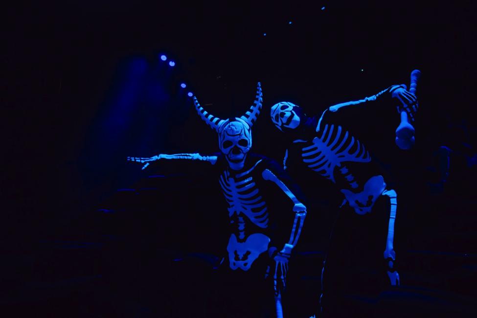 """Một trích đoạn trong màn """"Vũ khúc những bộ xương"""""""
