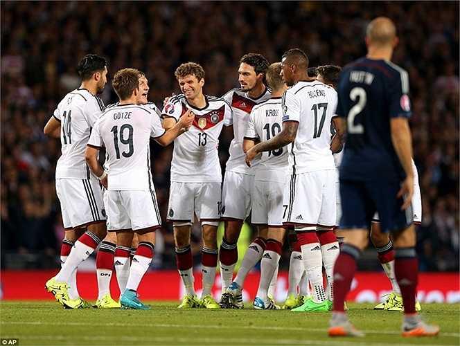 Schweinsteiger được Sir Alex quan tâm, còn người được khán giả trông đợi nhất đêm qua là Thomas Muller