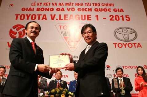 Tâm lý tiêu tiền của bóng đá việt nam khiến V-League được Toyota tài trợ bằng 1/10 những gì Thai League được hưởng