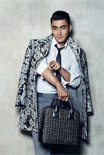 Choi Si Won (Super Junior) mang một vẻ đẹp củacông tử nhà giàu- sành điệu và lịch lãm