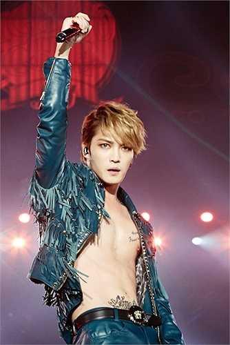 MộtKim Jae Joong cuốn hút trên sân khấu  (Nguồn: Dân Việt)