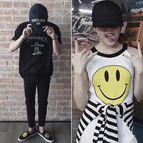 Các trang phục đều có một điểm tương đồng