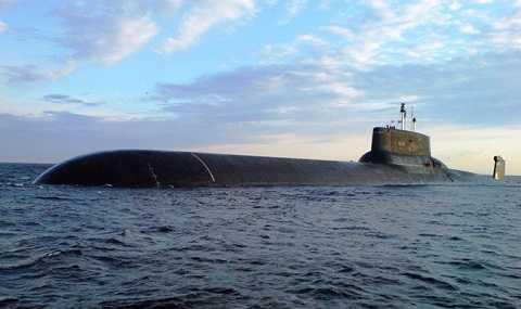 Tàu ngầm lớn nhất thế giới Dmitri Donskoy đang trên đường đến Syria