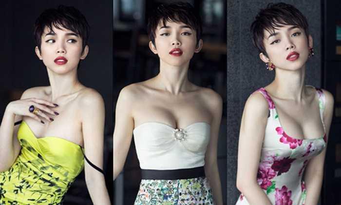 Phong cách thời trang được đánh giá hàng đầu showbiz của Tóc Tiên.