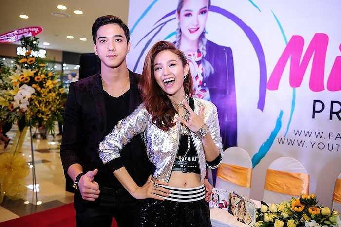 Tiến Vũ, bạn diễn của Minh Hằng trong 'Con ma nhà họ Vương' và MV 'Yolo'.