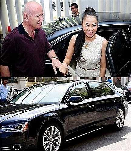 Bên cạnh đó, vợ chồng nữ ca sĩ còn sở hữu một chiếc xe sang khác với mức giá hơn 8 tỷ đồng.