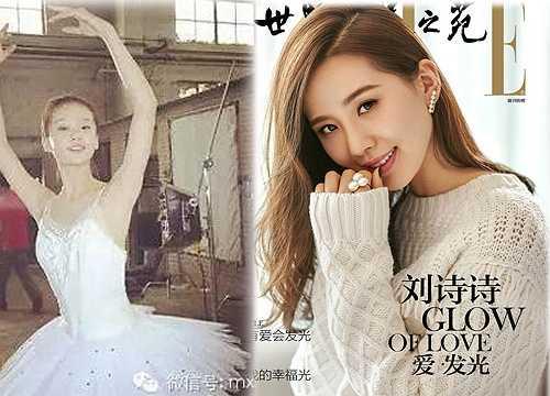Vẻ đẹp ngọt ngào, trong sáng của Lưu Thi Thi không thay đổi theo thời gian dù cô nàng đã sắp bước sang tuổi 30.