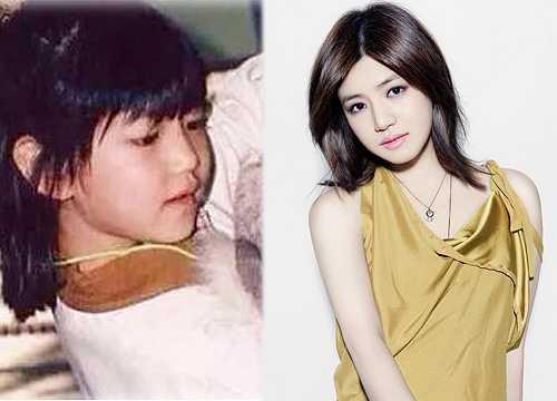 Trần Nghiên Hy sở hữu gương mặt bầu bĩnh, baby từ nhỏ.
