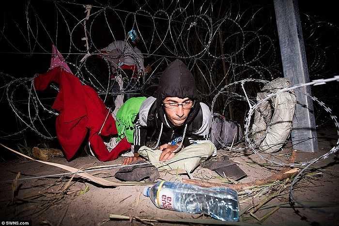 Hôm 9/9, cảnh sát Hungary đã bắt giữ hơn 3.000 người di cư vượt biên trái phép