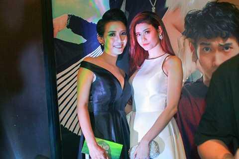 Nữ diễn viên Trương Quỳnh Anh cũng đến dự sự kiện một mình.