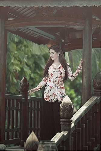 Khi đi thi, Lâm Chi Khanh sẽ chọn áo dài truyền thống, không cách tân và không sexy.