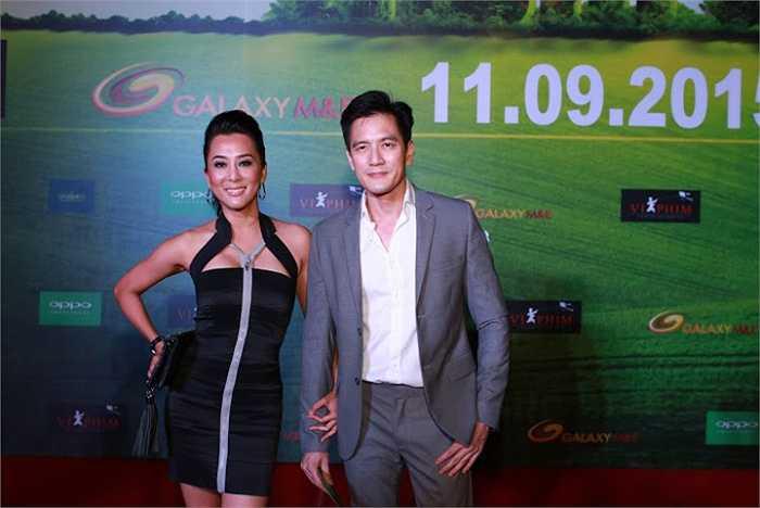 MC Nguyễn Cao Kỳ Duyên nóng bỏng bên người tình David Duy Hân.