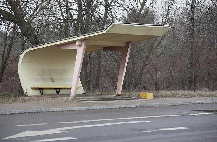 Một nhà chờ ở Kaunas, Lithuania