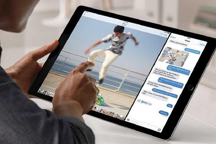 3. Màn hình khổng lồ 12,9 inch. Người ta không bất ngờ về một chiếc iPad khổng lồ nhưng khả năng hiển thị và mật độ 5,6 triệu điểm ảnh của nó đang khiến giới công nghệ phải 'điên đảo' vì iPad Pro
