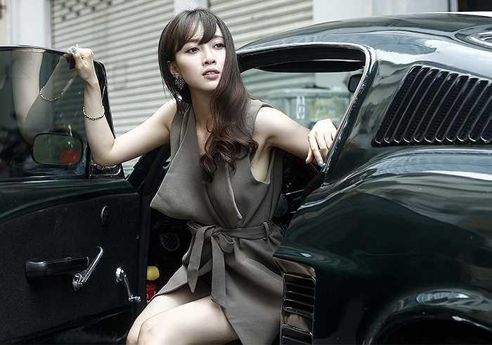 Hot girl Hải Phòng Phan Hải Anh đã có những thay đổi đáng kể trong bộ ảnh mới khiến nhiều người ngỡ ngàng.