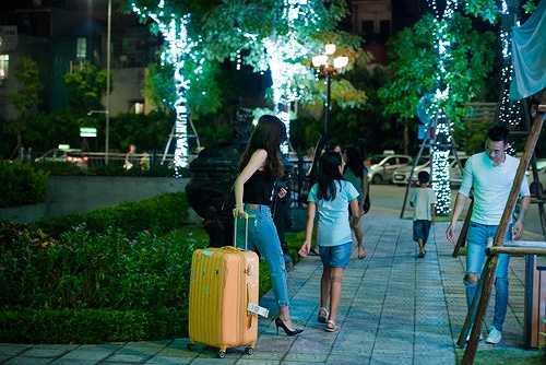 Á hậu Huyền My và các người mẫu sẽ tham gia đoàn nghệ thuật Việt Nam trình diễn áo dài của các nhà thiết kế Việt trong hai ngày của festival.