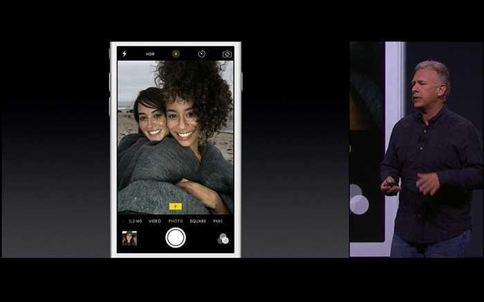 Để  có được các bức hình tuyệt vời từ camera trước của mình, Apple đã tăng cường thêm một con chip hiển thị cho iPhone – với khả năng tăng gấp 3 lần ánh sáng từ đèn flash camera trước