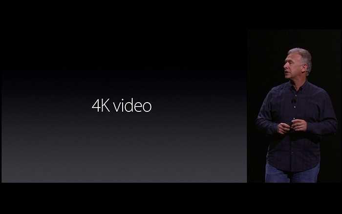 Lần đầu tiên trong lịch sử, Camera của iPhone có thể quay phim 4K – công nghệ  vô cùng hiện đại