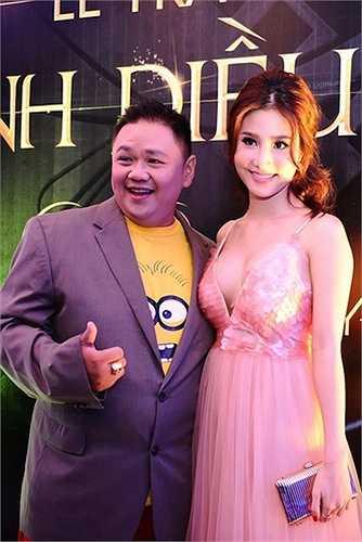 Cùng với namdiễn viên Minh Béo, Diễm Mylà khách mời công bố giảicho phim hoạt hình xuất sắc nhất và đạo diễn phim hoạt hình xuất sắc nhất tại Cánh diều vàng 2015.