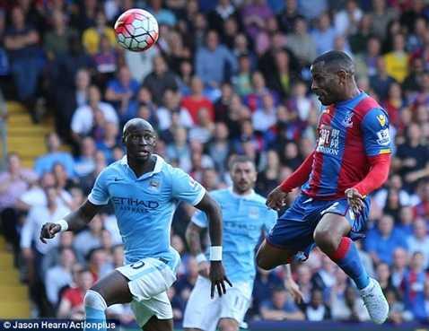 Man City gặp khá nhiều khó khăn trước Crystal Palace