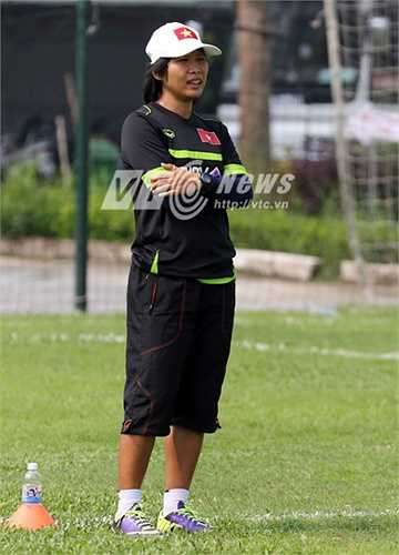 Trợ lý thủ môn Kim Hồng