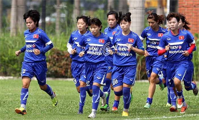 Tại vòng loại thứ 2 Olympic Rio, tuyển nữ Việt Nam nằm cùng bảng với chủ nhà Myanmar, kình địch Thái Lan, Jordan và Đài Loan (Trung Quốc).