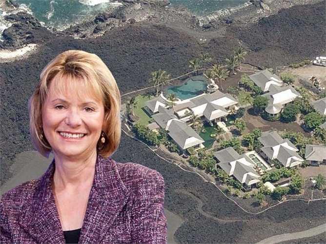 Cựu CEO của Yahoo, Carol Bartz thì 'chạy trốn' mọi thứ và ở trong ngồi biệt thự xa xỉ của mình ở Hawaii. Tại đây có cả sân gôn và bể bơi rộng lớn