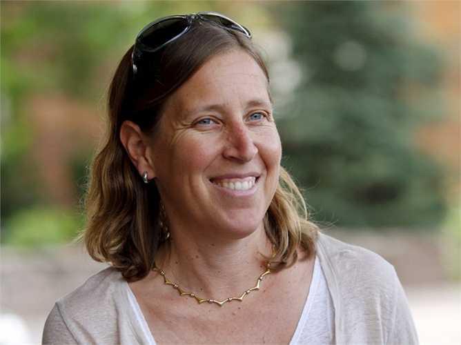 Susan Wojcicki - CEO của Youtube cũng không bỏ lỡ buổi gặp mặt trên