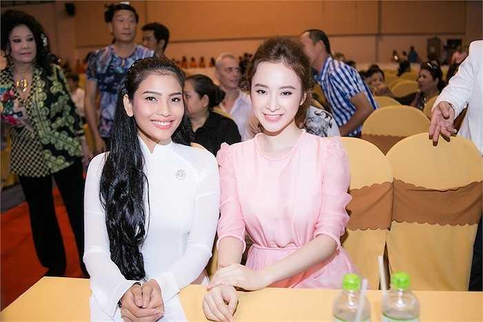 Trương Thị May - một trong những mỹ nhân ăn chay đẹp nhất cũng xuất hiện tại sự kiện.