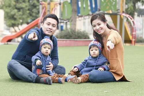 MC Hoàng Linh quen thuộc nhất với khán giả qua chương trình Chúng tôi là chiến sĩ. Ông xã của chị là MC Trung Nghĩa của chương trình Đừng để tiền rơi. Cặp song sinh của vợ chồng MC đài truyền hình Việt Nam hiện được gần 2 tuổi.