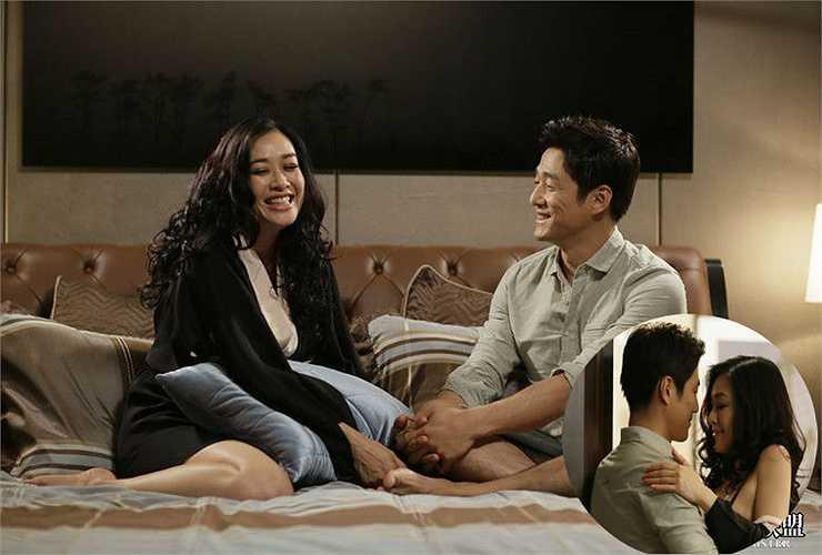 Ji Jin Hee - Chung Lệ Đề: Cũng trong phim Bad Sister, cô đào gốc Việt Chung Lệ Đề và tài tử Ji Jin Hee có cuộc tình nóng bỏng không kém so với Trần Ý Hàm.