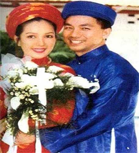 Mỹ nhân không tuổi Diễm My 6X hạnh phúc bên chồng trong ngày cưới.