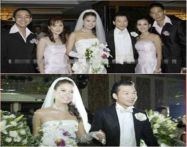 Ảnh cưới của cặp vợ chồng nổi tiếng Trương Ngọc Ánh và Trần Bảo Sơn. Tuy nhiên, hiện tại cặp đôi đẹp nhất làng giải trí đã chia tay.