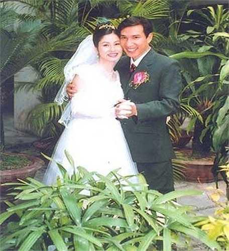 Ảnh cưới danh hài Quang Thắng.